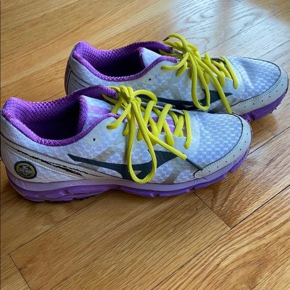 mizuno womens volleyball shoes size 8 queen zalando net navy